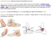 lesões de tornozelo