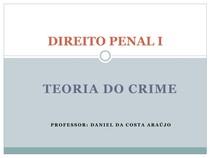 TEORIA DO CRIME (1)
