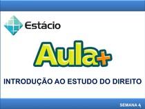 4_AULA +_INTRODUÇÃO AO ESTUDO DO DIREITO