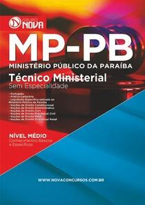 Apostila Ministerio Publico da Paraiba -Tecnico Ministerial - Grupo Nova - 2015