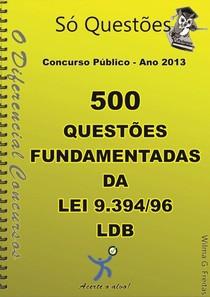 500 questões comentadas LDB LEI 9394(1)