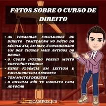 FATOS SOBRE O CURSO DE DIREITO