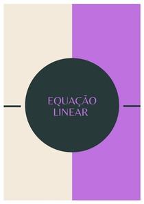 Equação linear