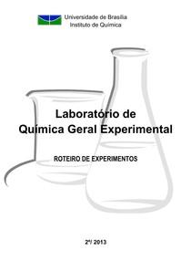 Apostila   Quimica Geral Experimental