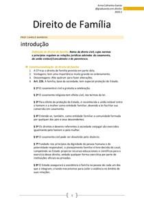 Caderno Direito de Família @catharinaorganiza