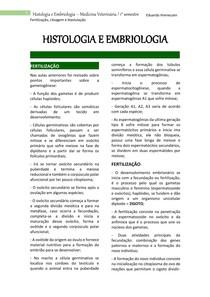 FECUNDAÇÃO E CLIVAGEM, embriologia.