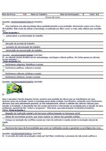 AV1 CIENCIAS SOCIAIS 1