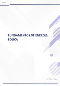 Fundamentos da energia eólica