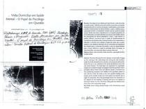 Texto 17 - Visita Domiciliar em Saúde Mental - o papel do psicólogo em questão