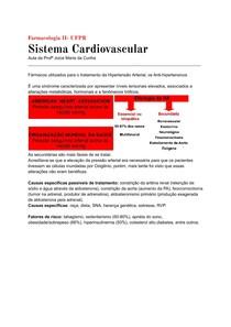 Farmacologia do Sistema Cardiovascular