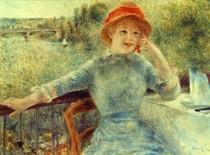 Pierre Auguste Renoir  - alphonsine_fournaise