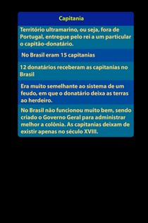 História do Brasil: Brasil Colônia   Capitanias Hereditárias