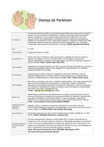 Doença de Parkinson - resumo