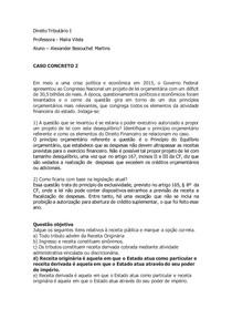 caso concreto 2 - Tributário I