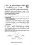 ADMINISTRACAO DE RECURSOS HUMANOS Apostila Comercio 2014 versao final