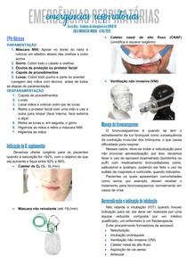 Emergências Respiratórias (COVID-19)