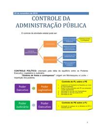 5 - CONTROLE DA ADMINISTRAÇÃO