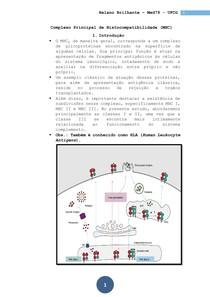Imunologia - Aula 07 - MHC