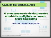 FCRB MI O armazenamento de documentos arquivisticos digitais n - 3