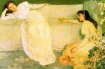 James Mcneill Whistler -Symphony in White  No. 3