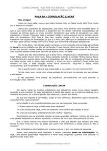 ESTATISTICA REGULAR 10