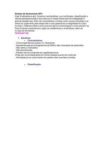 SP3 Imunologia Infecção bacteriana