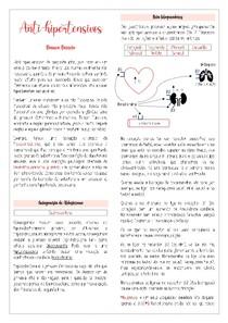 Anti-hipertensivos - Parte II