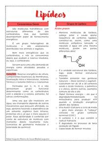 Bioquímica Lipídeos