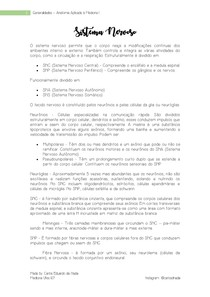 Generalidades - Sistema Nervoso