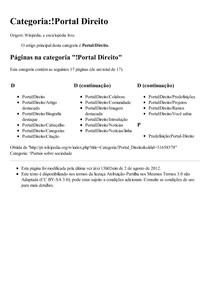 Categoria_!Portal Direito – Wikipédia  a enciclopédia livre