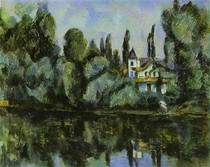 Paul Paul Cézanne - The Banks of the Marne