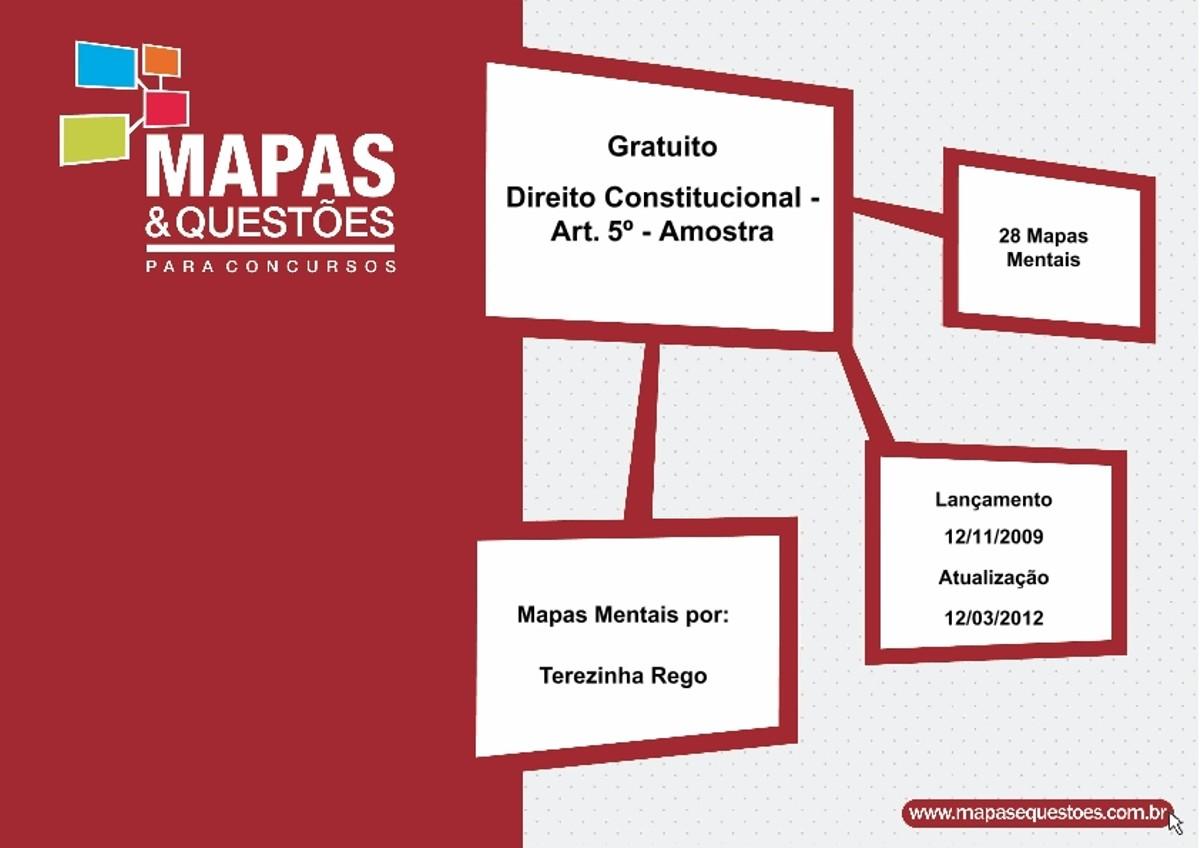 Pre-visualização do material Direitos e Garantias Fundamentais MAPA MENTAL - página 1