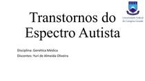 Transtornos do Espectro Autista - Epigenética