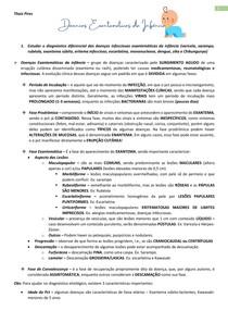 Doenças Exantemáticas da Infância (Sarampo, Rubéola, Eritema Infeccioso, Exantema Súbito, Varicela, Mononucleose, Escarlatina) - Módulo Febre - Problema 2