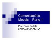 Comunicações Móveis - Parte 1