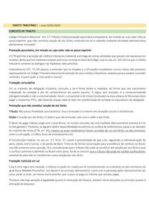 DIREITO TRIBUTÁRIO I - CONCEITO - NATUREZA DO DIREITO TRIBUTÁRIO - AUTONOMIA DO DIREITO TRIBUTÁRIO - RELAÇÃO JURÍDICA