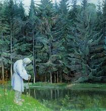 Mikhail Nesterov - Elder Servant of the God Abraham