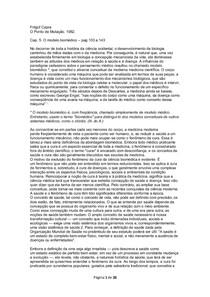 Fritjjof Capra_Ponto de Mutação_Modelo Biomédico
