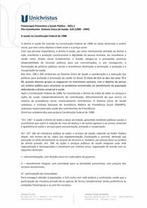 Período Pós -Constituinte Sistema Único de Saúde (1989-1994)