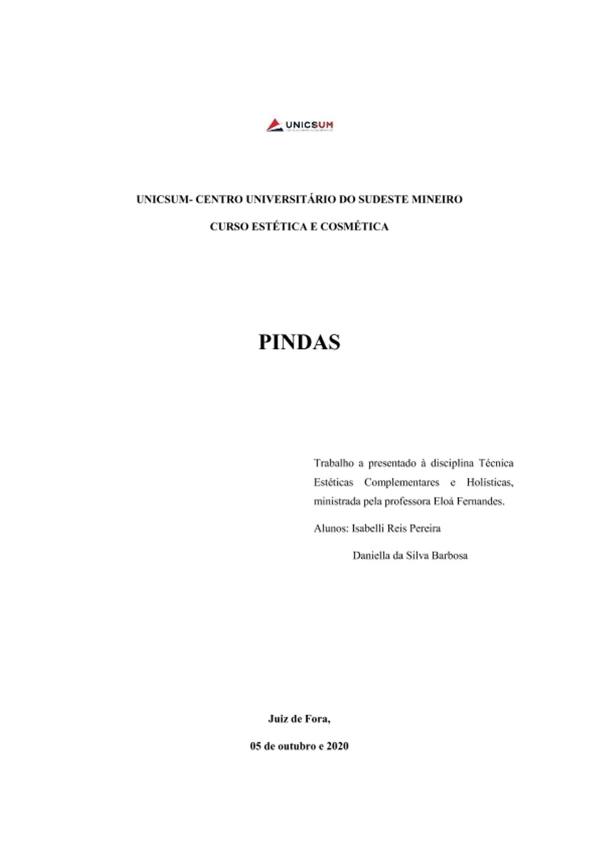 Pre-visualização do material Pindas - página 1