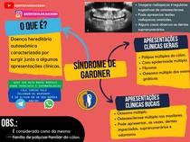 Síndrome de gardner - Patologia Oral - Por @dentista.de.sucesso