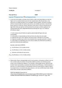 avaliaçao 1