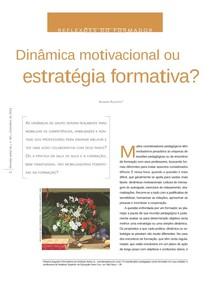 Dinâmica Motivacional Ou Estratégia Formativa Revisa Avisa L