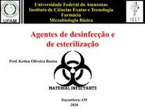 Agentes de desinfecção e de esterilização