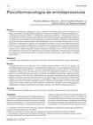 Psicofarmacologia de antidepressivos