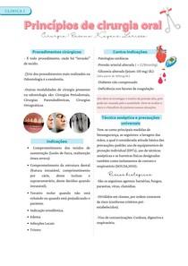 Princípios de cirurgia oral