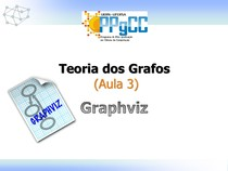 Teoria dos Grafos - Aula 3 - Graphviz - Teoria dos Grafos
