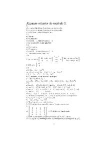 Soluções do Capítulo 3