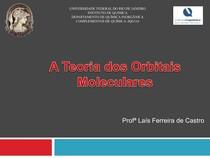 Aula1-TEORIA DOS ORBITAIS MOLECULARES