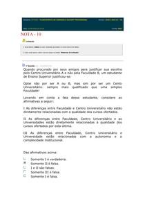 AV1 - PROVA PLANEJAMENTO DE CARREIRA E SUCESSO PROF 2020 1